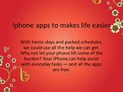 iPhone Apps To Make Your Life Easier