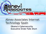 Abney Associates Internet Technology Spain: Obama's Cybersecurity