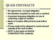 Explain what is meant by quasi contract — pic 1