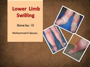 Lower  Limb Swilling