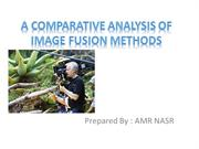 Comparison of image fusion methods