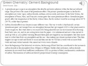 Green Chemistry background