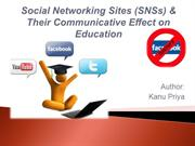 social networking sites and education
