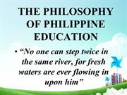 philosophy of philiippineeducation -history