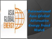 International Asia Global Energy - Clean Energy Scams and What To Do