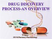 drug discovery process-an overview