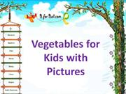 Vegtables for Kids with Pictures