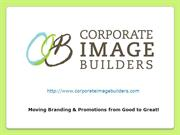 Corporate Image Builders – Company Promotional Products
