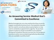 An Answering Service Medical that's Committed to Excellence