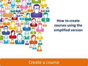 01 - How to Create an online course with Docebo Creating a course: