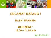 Basic Training Herbalife