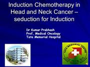 Induction Chemotherapy hyderabad -day 3