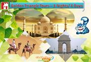 4 Days Golden Triangle Tour Packages for Delhi Agra Jaipur