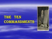 1st and 2nd Commandments