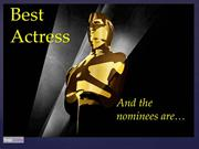 Best Actress Nominees 2013 (The Oscars)
