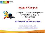 Campus Management Software for College and University