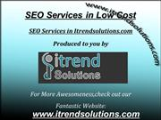 SEO Services in Low cost