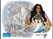INDIANS AND WOLVES