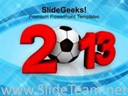 2013 FOOTBALL CHAMPIONSHIP POWERPOINT TEMPLATE