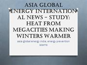 Asia Global Energy International News