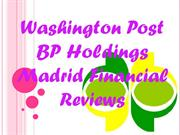 Washington Post BP Holdings Madrid Financial Reviews - Wal-Mart freaki