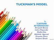 Tuckman's group dynamics ppt