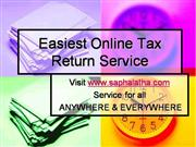 Easiest Online Income Tax Return Filing