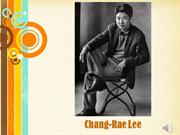 Change-Rae Lee Lecture
