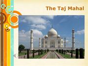 Taj Mahal Lecture
