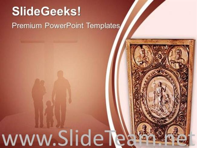 Ancient Bible Theme Christianity Powerpoint Template Powerpoint Template