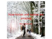 How horses and wolves are amazing- English project