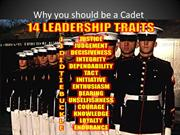 Why you should be a Cadet