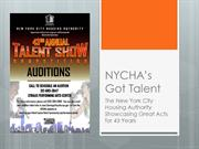 NYCHA's Got Talent - NYCHA's Annual Talent Show