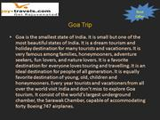 Goa holiday Tour packages