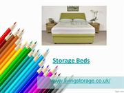 Storage beds from Living Storage Company