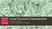 Local Economic Development Part 1