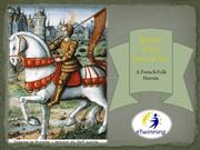 Etwinning project-Joanof Arc, a French Folk heroine