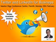Using Twitter For Business Part 1