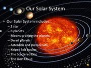 The Solar System-an overview
