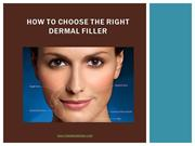 Which facial filler is best the portion