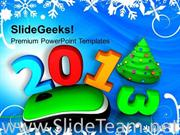 2013 WITH COMPUTER MOUSE CHRISTMAS POWERPOINT TEMPLATE