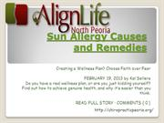 Sun Allergy Causes and Remedies