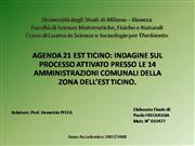 Presentazione Tesi Paolo Freguggia
