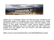 Ladakh Tour,  Ladakh Tour Packages
