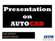 Summer Training in Lucknow -CADD New (AutoCAD General)