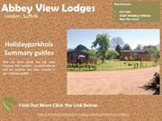 Log Cabins with Hot Tubs in Suffolk | Abbey View Lodges