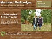 Log Cabins with Hot Tubs in the Lake District at Meadow's End Lodges