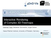 Rendering of Complex 3D Tree-Maps (GRAPP 2013)