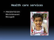 RURAL  HEALTH CARE SERVICES