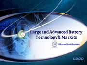 Large and Advanced Battery Technology & Markets